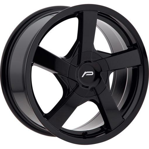 Pacer Wheels 791B Essence GLOSS BLACK