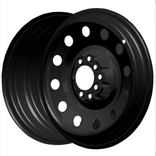 Pacer Wheels 84B FWD Black Mod MATTE BLACK