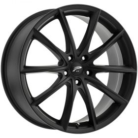 Platinum Custom Wheels 435SB Flux SATIN BLACK