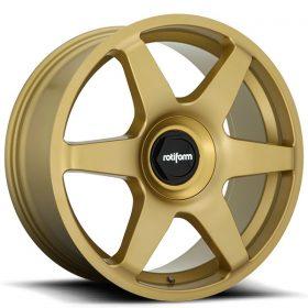 SIX R118 MATTE GOLD