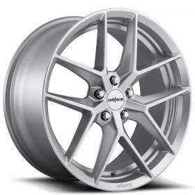 Rotiform Custom Wheels FLG R133 GLOSS SILVER