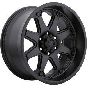 Ultra Custom Wheels 198B Bolt SATIN BLACK