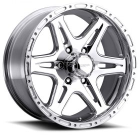 Ultra Custom Wheels 208P Badlands POLISHED