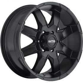 Ultra Custom Wheels 225SB Phantom SATIN BLACK