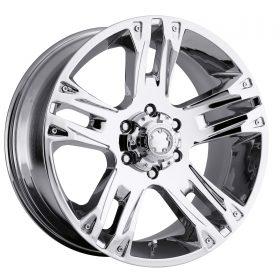 Ultra Custom Wheels 235C Maverick CHROME