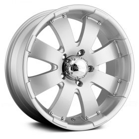 Ultra Custom Wheels 243S Mako SILVER