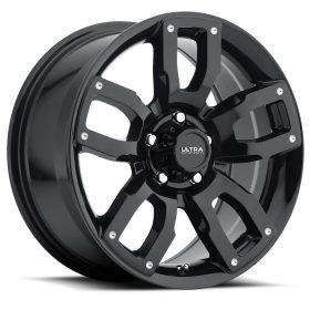 Ultra Custom Wheels 251BK Decoy CUV GLOSS BLACK