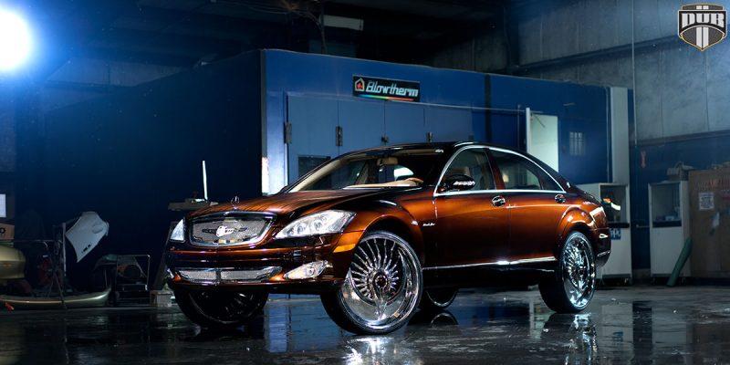 Mercedes-Benz S550 20x9 DUB S602 Azzmacka Wheels