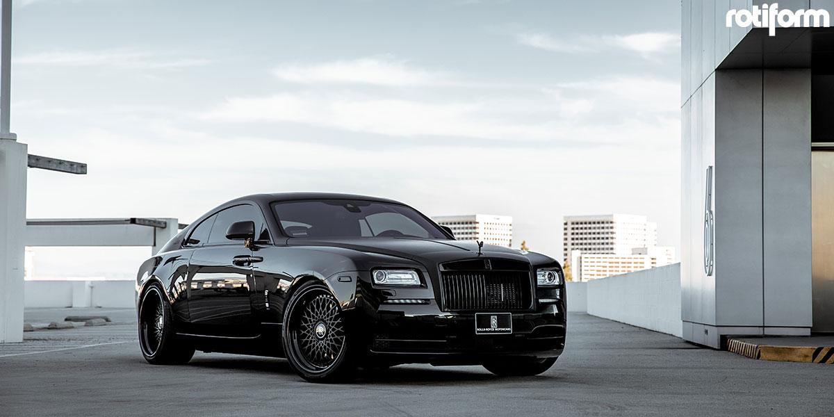 Rolls-Royce Wraith Rotiform LHR Wheels