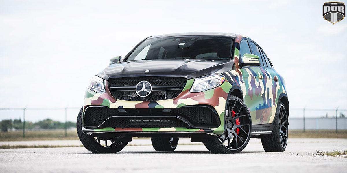 Mercedes-Benz GLE450 AMG DUB Manor XA90 Wheels