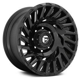 Fuel Custom Wheels CYCLONE D682 GLOSS BLACK