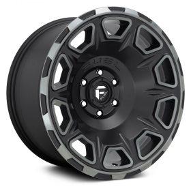 Fuel Custom Wheels VENGEANCE D686 MATTE BLACK DDT