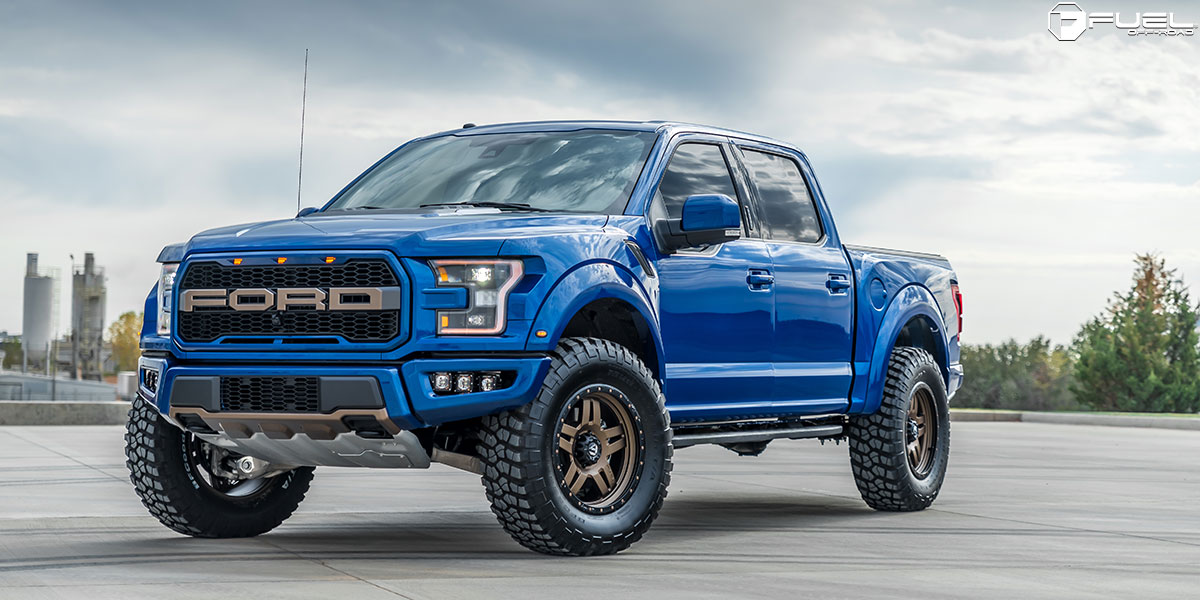 Ford F-150 Raptor 24x10 Fuel Anza D583 Wheels