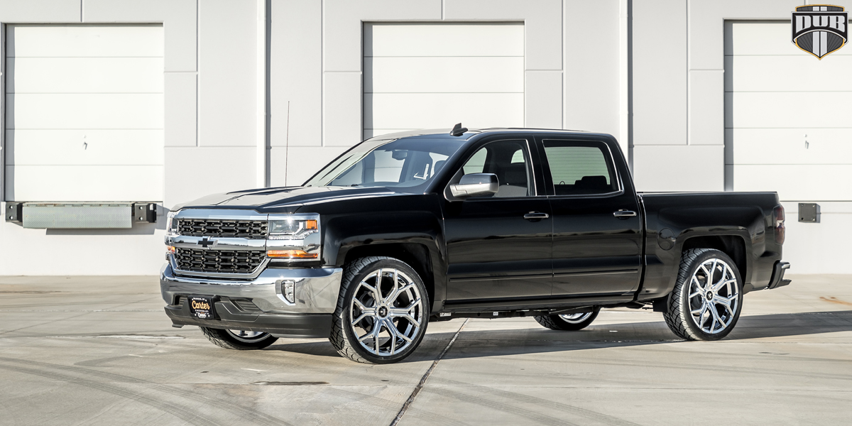 Chevrolet Silverado 24 DUB Royalty S207 Wheels