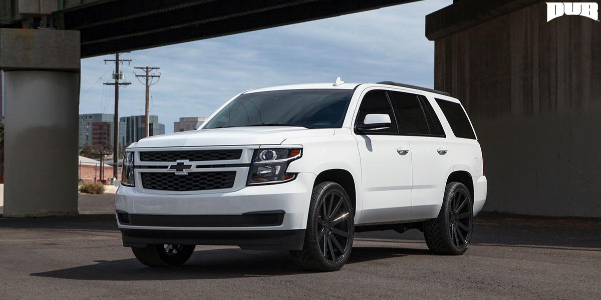 Chevrolet Tahoe 24 DUB Shot Calla S219 Wheels