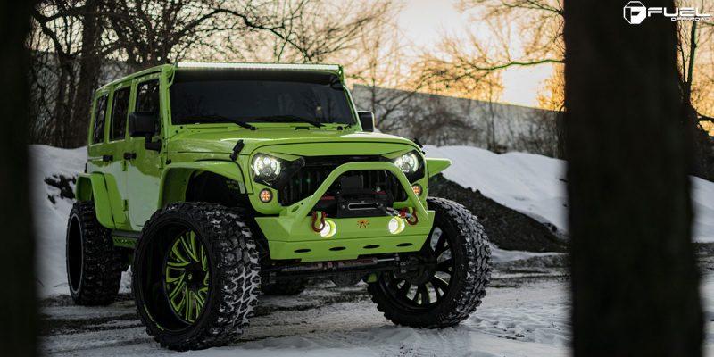 Jeep Wrangler 26 Fuel FF41 5 Lug Wheels