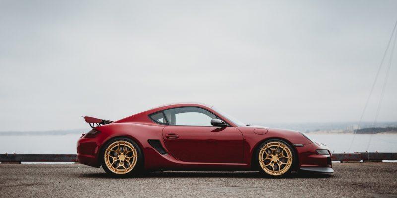 Porsche Cayman Rotiform HUR Wheels