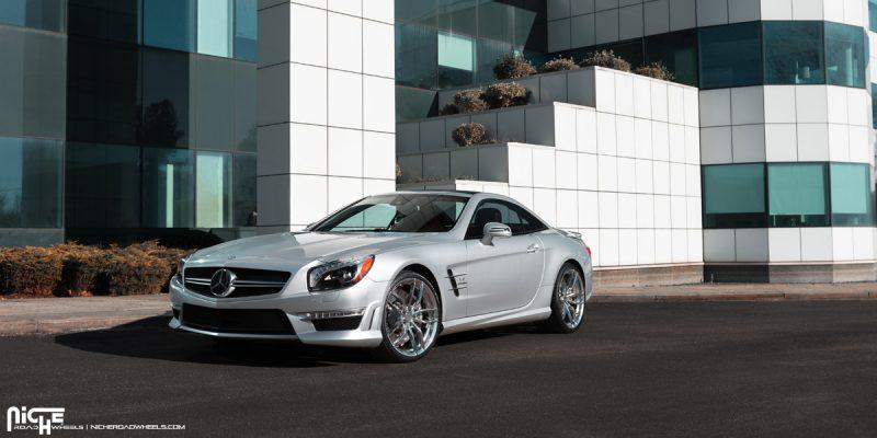 Mercedes-Benz S63 AMG 20 Niche Vosso Wheels