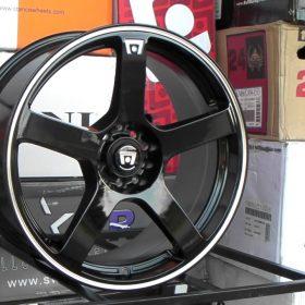 American Racing Custom Wheels AR919 ESTRELLA 2 MACHINED BLACK
