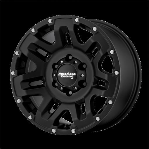 American Racing Custom Wheels AR200 YUKON BLACK