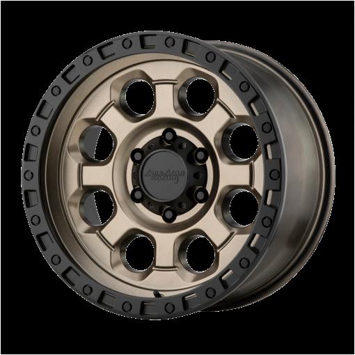 American Racing Wheels AR201 MATTE BRONZE BLACK LIP