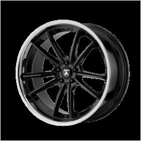 Asanti Black Custom Wheels ABL-23 DELTA BLACK CHROME
