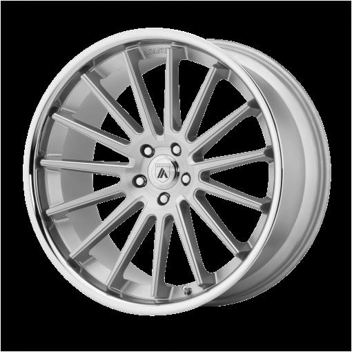 Asanti Black Custom Wheels ABL-24 BETA SILVER