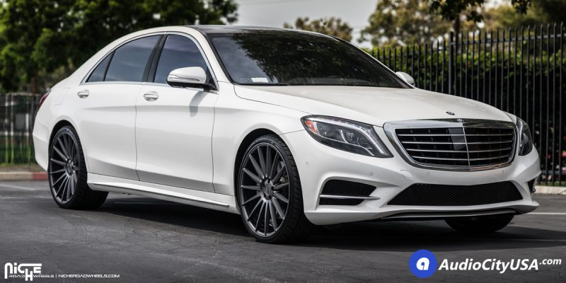 Mercedes-Benz S550 22 Niche Form M157 Wheels