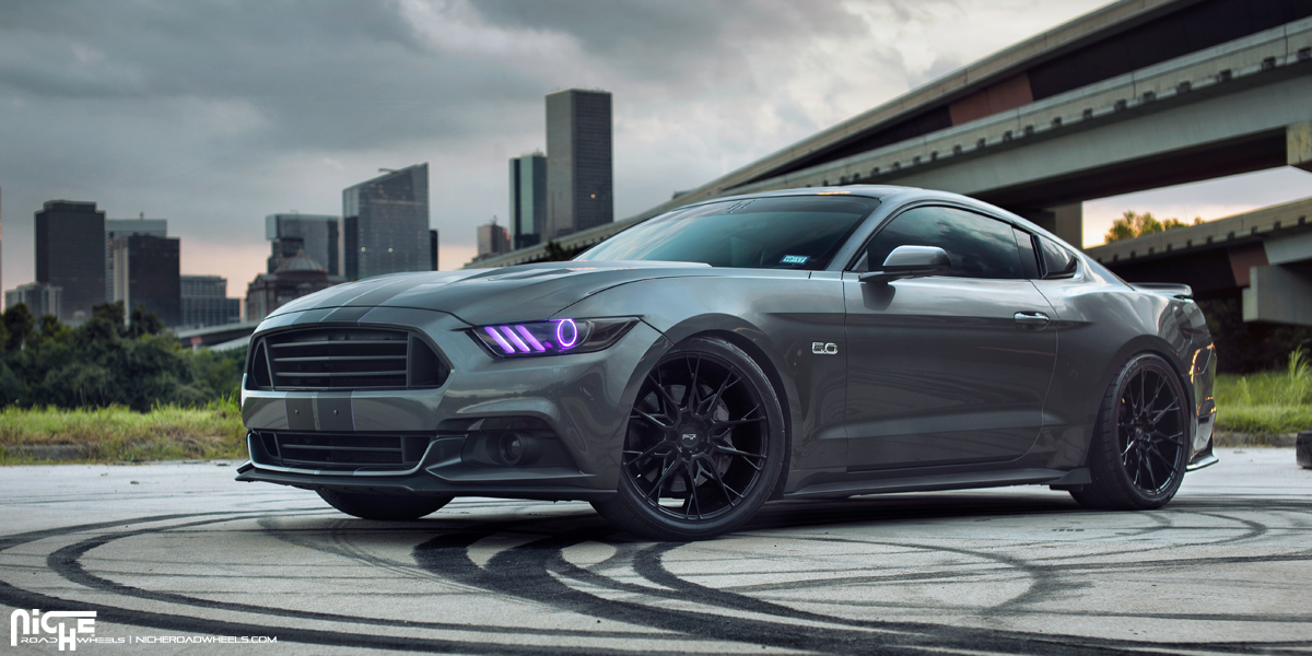 Ford Mustang 20 Niche Staccato M183 Wheels