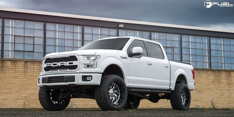 Ford F-150 Fuel Triton D211 Wheels
