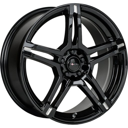 Focal Custom Wheels 451BM F-51 BLACK MILLED