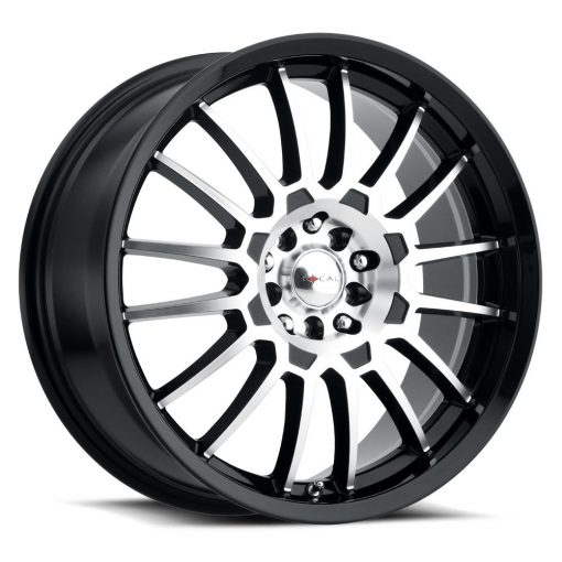 Focal Custom Wheels 456 F-56 MACHINED BLACK