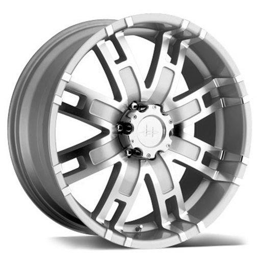 HELO Custom Wheels HE835 MACHINED SILVER