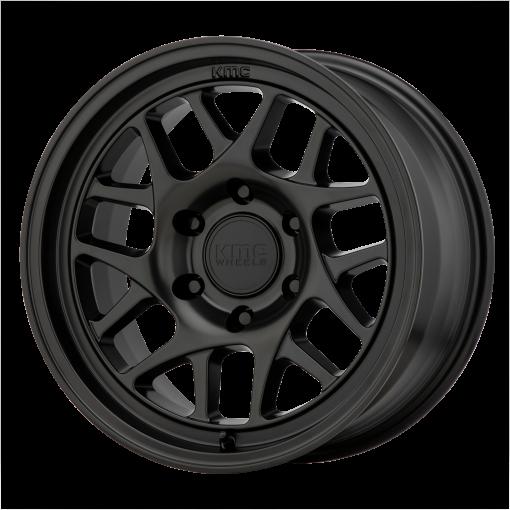 KMC Custom Wheels KM717 BULLY OL BLACK