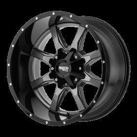 Moto Metal Custom Wheels MO970 GRAY BLACK