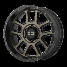 XD Series Custom Wheels XD828 DELTA BLACK TINTED