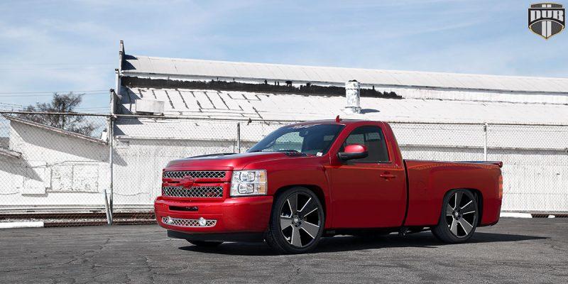Chevrolet Silverado 1500 24 DUB Del Grande S230 Wheels
