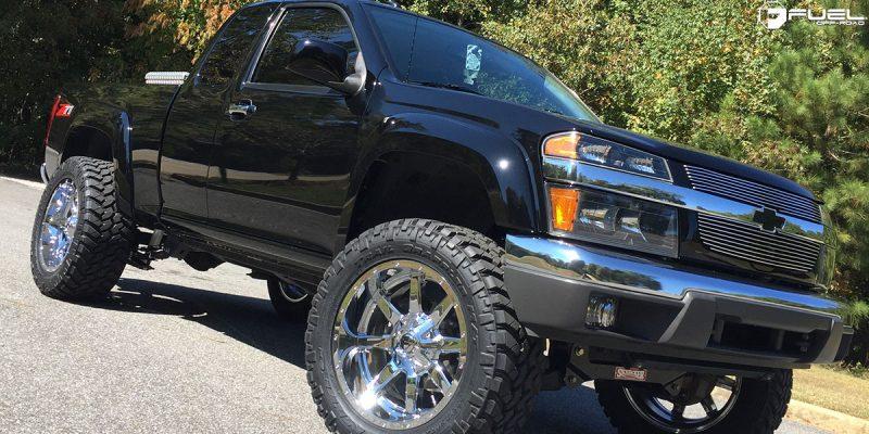 Chevrolet Colorado 20x10 Fuel Maverick D536 Wheels