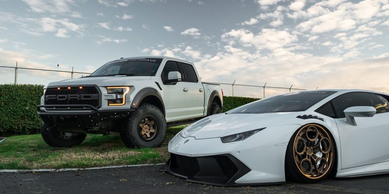 Ford F-150 Raptor 17 Rotiform SIX-OR Wheels