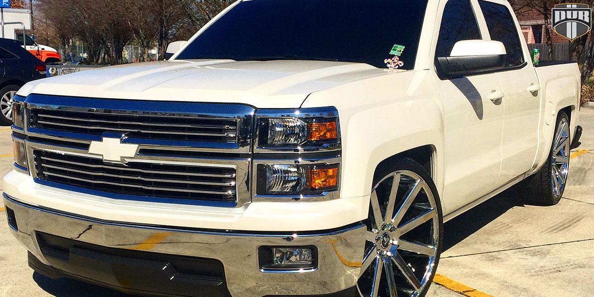 Chevrolet Silverado 1500 26x10 DUB Shot Calla S120 Wheels