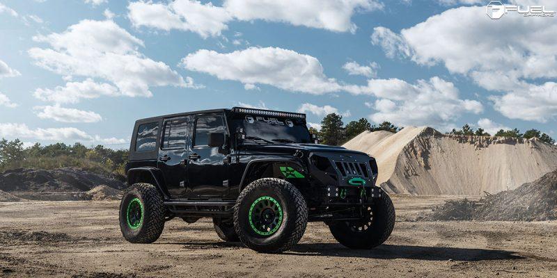Jeep Wrangler 17x8.5 Fuel Vector D579 Wheels