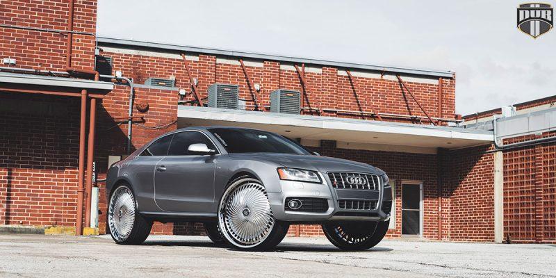 Audi A5 28x10 DUB Diragio S713 Wheels