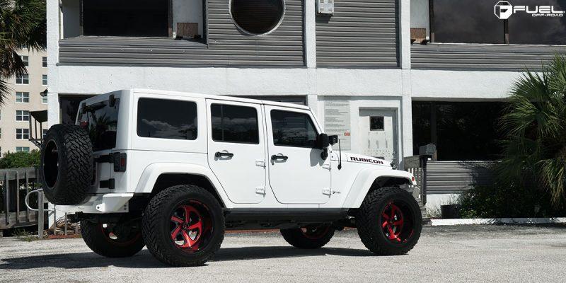 Jeep Wrangler 20x12 Fuel FF12 Wheels