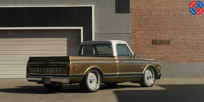 Chevrolet C10 Pickup 22 USMag Sierra U706 6 Lug Wheels