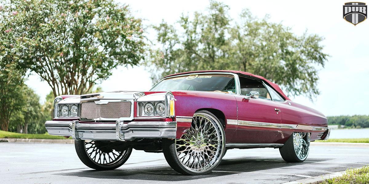 Chevrolet Impala 28x10 DUB Salante X90 Wheels