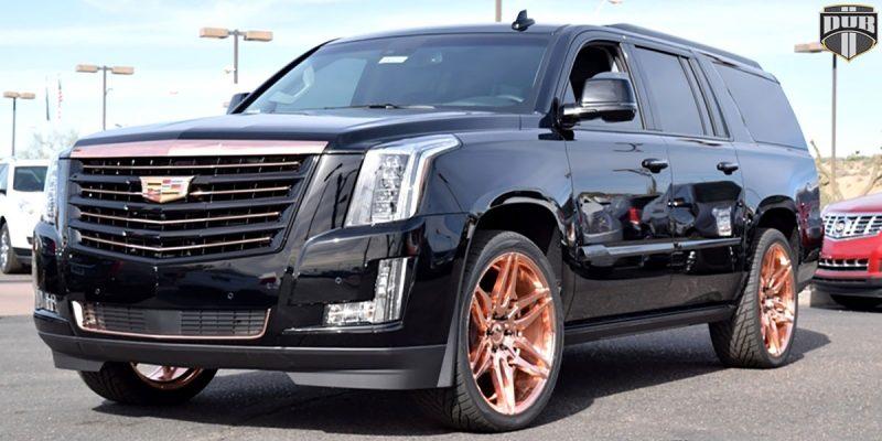 Cadillac Escalade 24x10 DUB Attack-6 S210 Wheels
