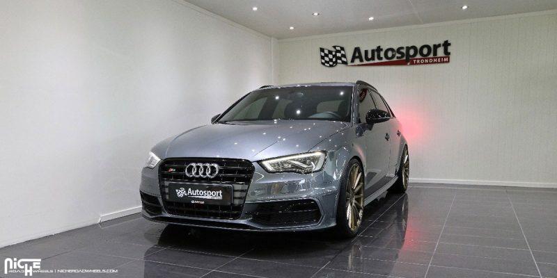 Audi S3 20x8.5 Niche Form M158 Wheels
