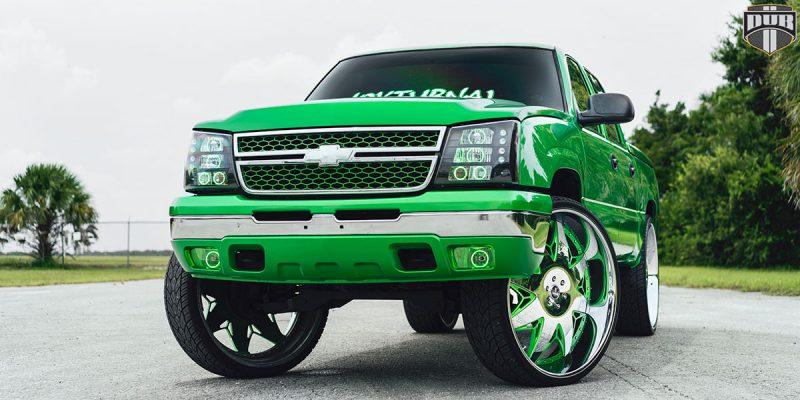 Chevrolet Silverado 1500 32 Fuel X-69 Wheels
