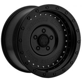 Centerline Custom Wheels 842B Full Jacket SATIN BLACK