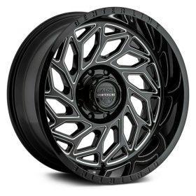 Centerline Custom Wheels 846BM LT6 BLACK MILLED